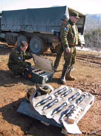 Makedonia Krivolak, kranaatinheitinammunnat